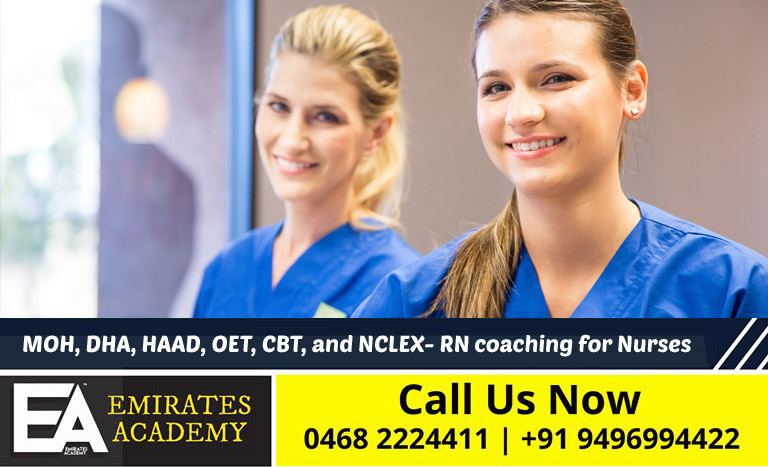 MOH, DHA, HAAD, OET, CBT, and NCLEX- RN, Prometric coaching for Nurses - Pathanamthitta, Kerala